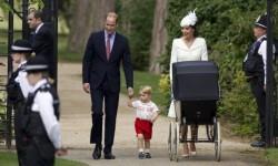 Así fue el bautismo de la princesa Charlotte de Cambridge (9)