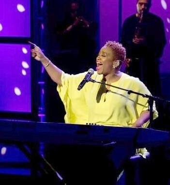Avery Sunshine en una de sus actuaciones de 2014.