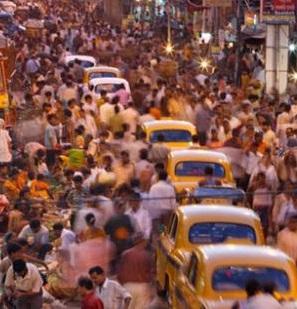 Bombay es una de las ciudades más sobresaturadas de población.