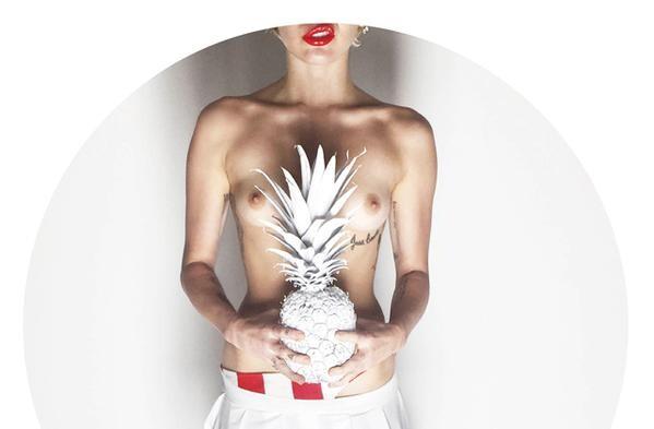 Miley Cyrus de nuevo desnuda