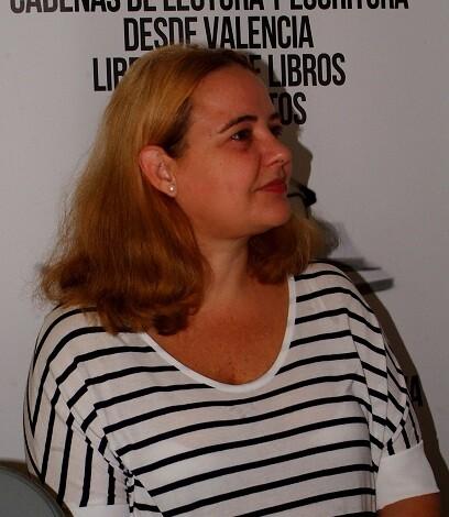 Carmen Paya Ferrando es una autora con una gran sensibilidad a la hora de abordar sus historias y sus personajes. (Foto-R.Fariña-VLCNoticias)