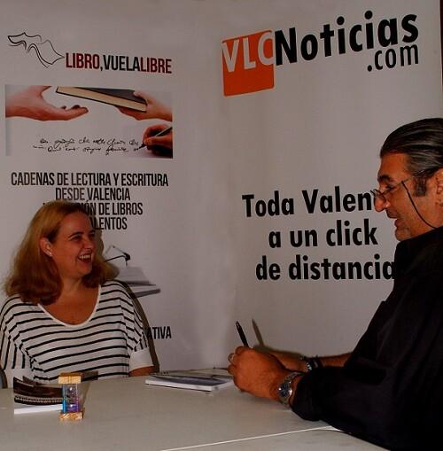 Carmen Paya Ferrando es una notable escritora valenciana con una larga lista de títulos en su haber. (Foto-R.Fariña-VLCNoticias)