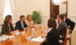 Catalá se reúne con el embajador de EE.UU. para tratar sobre la lucha contra la piratería y el terrorismo internacional