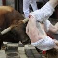 Comienzo sangriento en San Fermín un herido de gravedad (11)