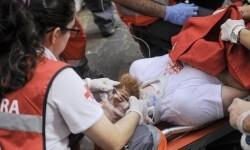 Comienzo sangriento en San Fermín un herido de gravedad (4)