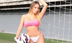 Daniella Chávez desnuda 'calienta' final de la Copa América La Copa América ya tiene reina  una ex amante de 2 CR7 (1)