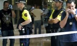 Dos heridos, uno grave, en un tiroteo junto a la Rambla de Barcelona.