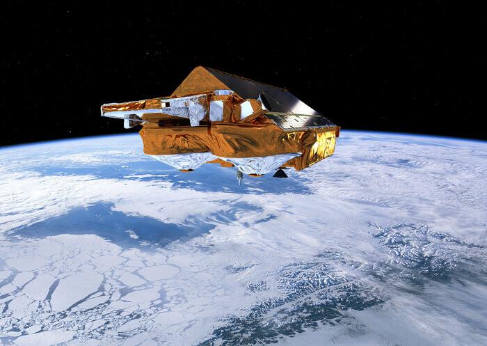 La misión de la ESA para el estudio del hielo