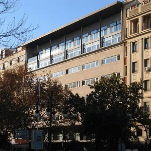 Edificio de la delegación territorial de la ONCE en Valencia.