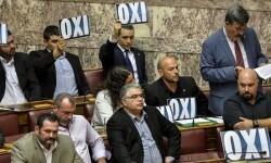 El Parlamento griego votó ayer otro paquete de reformas