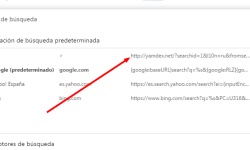 El administrador aplica esta opción eliminar eliminar yamdex google chrome