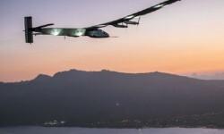 El avión solar.
