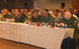 El encuentro reunió a más de 900 militares (Foto:HQ NRDC-ESP)