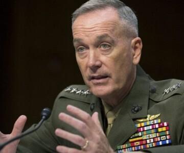 El futuro jefe del Estado Mayor de las Fuerzas Armadas de Estados Unidos, el general Joseph Dunford