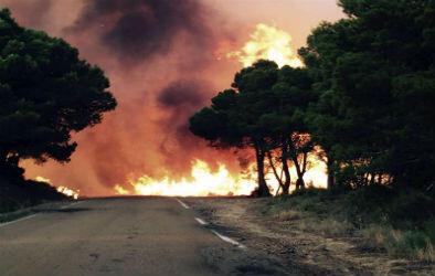 El gobierno aragonés decidió evacuar a más de 1.300 personas de la zona afectada.