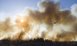 El incendio forestal que mantiene alerta a California (1)