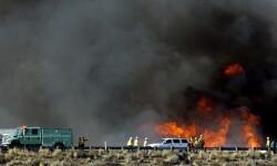 El incendio forestal que mantiene alerta a California (9)