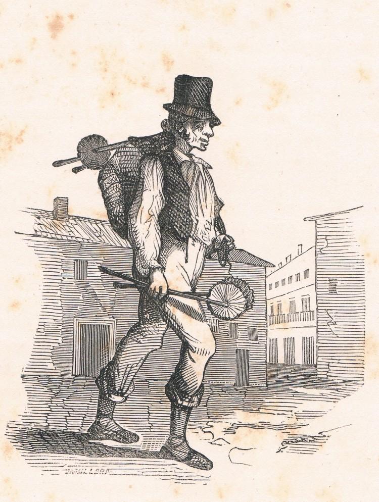 El palleter. Segle XIX