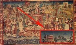 El triunfo del verano, un tapiz de 1538 creado en Brujas