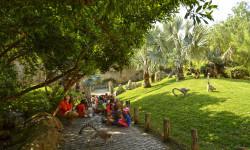 Enriquecimiento ambiental de lémures - BIOPARC Valencia