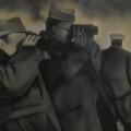 Equipo Realidad. El General Aranda con sus hombres durante las maniobras de Alfambra en febrero del 38'  (1974).