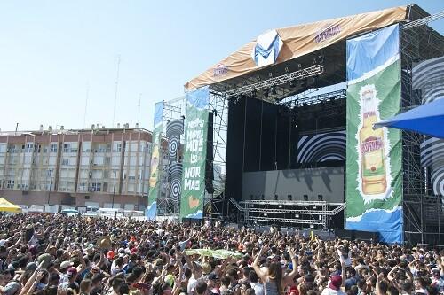 Escenario principal del festival.