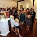 Exposición de abanicos en el MUBAG.