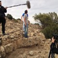 Grabación del corto 'Pecado Capital', dirigido por Leonardo Maicas.
