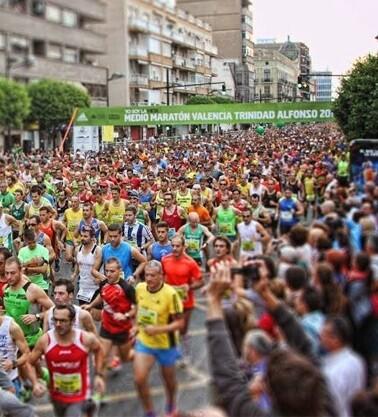 Imagen de archivo correspondiente al Maratón Valencia Trinidad Alfonso.