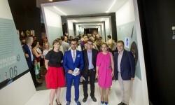 Inauguración exposición 'Paisatges transformats' de Quique Dacosta al MuVIM (Foto- Abulaila).