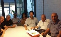 Jordi Peris mantuvo una reunión con la AA.VV. de Benimaclet.