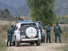 La Guardia Civil acordonó la zona para evitar cualquier posible riesgo.