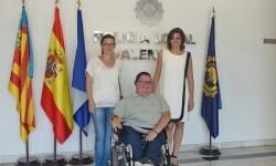 La Policía Local elaborará un protocolo de prevención de malos tratos a discapacitados.