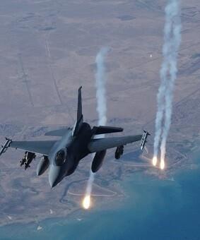 La aviación turca atacó posiciones del Estado Islámico. (Foto-AP)