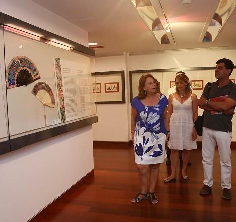 La exposición está compuesta por 80 piezas.