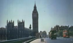 Las fotos a color que muestran a Londres devastada por Hitler (2)