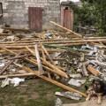 Las fuertes tormentas provocadas en Polonia dejaron un muerto y graves daños