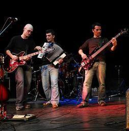 Lochlainn durante una de sus actuaciones.