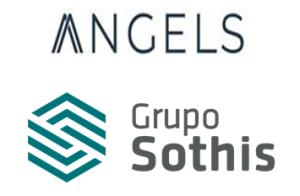 Logo de la compañía Grupo Sothis y la inciativa Angels.