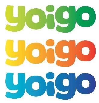 Logotipo de la empresa Yoigo.
