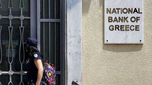 Los griegos podrían retirar efectivo a partir del martes.