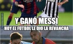 Los memes de la victoria chilena ante Argentina en la Copa América (3)