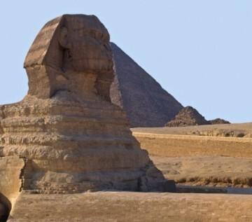 Los monumentos nacionales egipcios, como las pirámides y la esfinge de Giza están en peligro