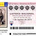 Lotería nacional, sorteo especial de agosto sábado 1 de agosto de 2015