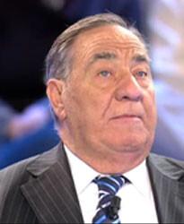 Manolo de Vega en una imagen televisiva.