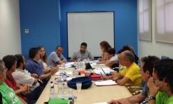 Reunión de la Mesa Sectorial de Educación.