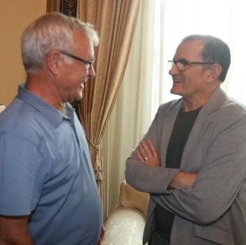 Miguel Ángel Cortés se mostró satisfecho por el resultado de esta primera reunión con el alcalde.