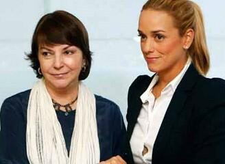 Mitzy Capriles y Lilian Tintori en una imagen de archivo.