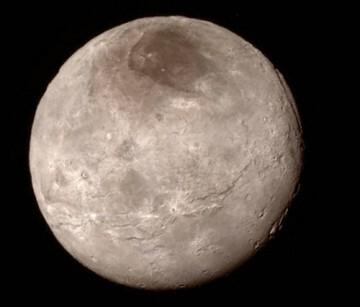 Mordor está en Caronte, la luna de Plutón