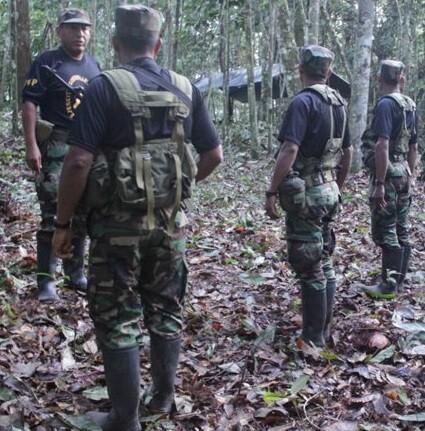 Muchas de las personas liberadas estuvieron retenidas casi 25 años en plena selva.